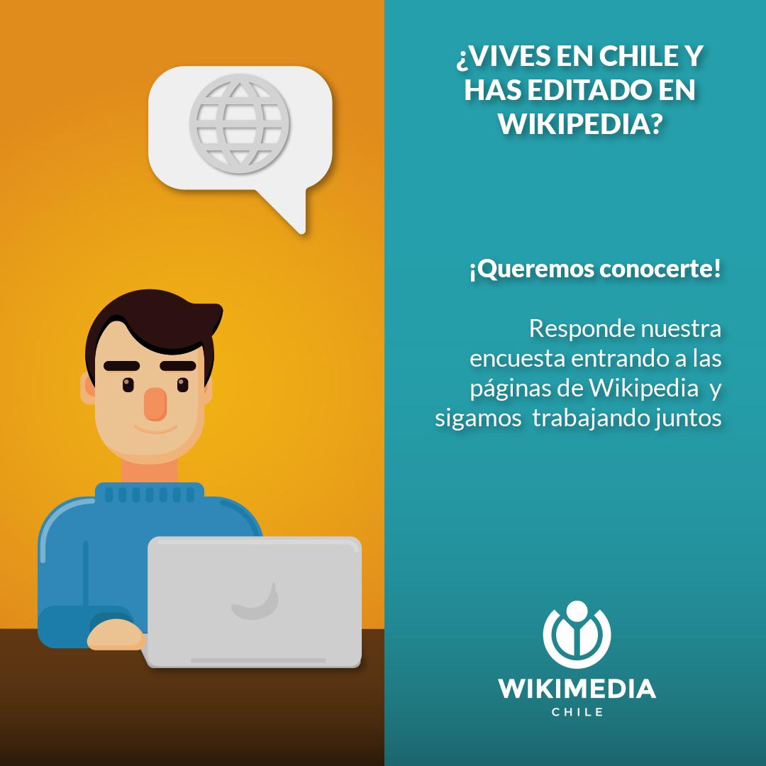 encuesta editores wikipedia
